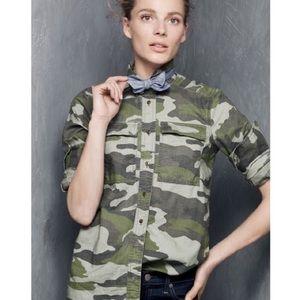J Crew camouflage Button Down Shirt